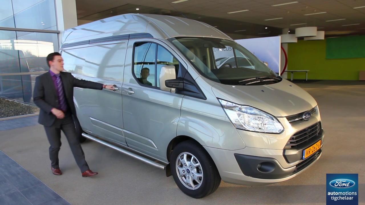 Ford Transit Custom L2H2, bedrijfswagen van de maand januari! - YouTube