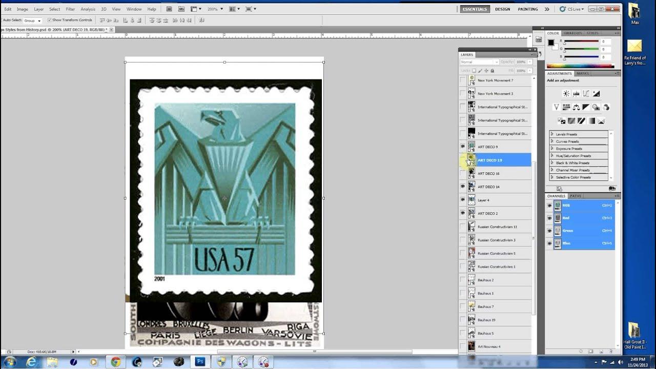 History of Design: Art Nouveau, Art Deco, Constructivism, Bauhaus ...