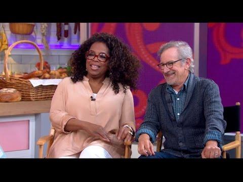 Oprah Winfrey, Steven Spielberg  2014: Creators on 'The Hundred Foot Journey'