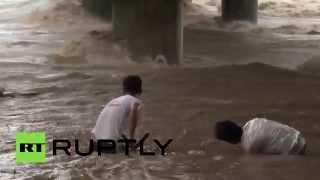 На Филиппинах из-за тайфуна эвакуированы 10 тыс. человек