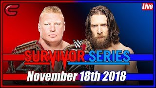 WWE Survivor Series 2018 Live Stream Full Show November 18th 2018: Live Reaction Conman167