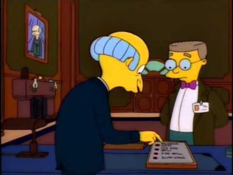 Evacuacion Planta Nuclear Simpson