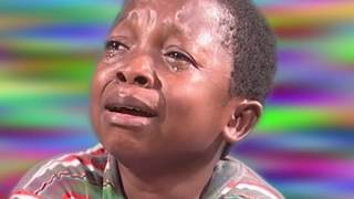 African Kid Man With Knife Crying (NollyWood)