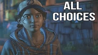 The Walking Dead Game Season 3 Episode 1 - All Choices/ Alternative Choices and Endings