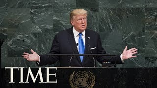 President Trump Speaks At The United Nations General Assembly | TIME