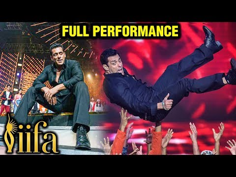 Salman Khan POWER PACKED Full Performance At IIFA Awards 2019 Show