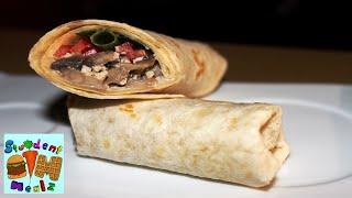 Sandwich Wraps (creamy Mushrooms Filling) || Student Mealz