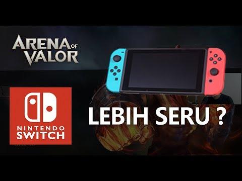 Main AOV (Arena Of Valor) Di Nintendo Switch Lebih Seru?