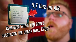 Overclocking a non-K Skylake CPU to 4.7Ghz in 2019