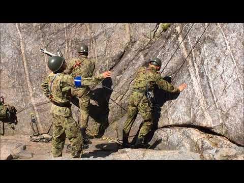 陸上自衛隊 第6師団 レンジャー訓練 2017 (山地総合訓練)