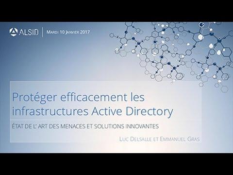 2017-01-10 ALSID Sécurité Active Directory