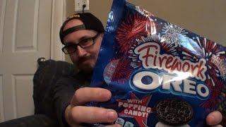 Brad Tries Firework Oreos
