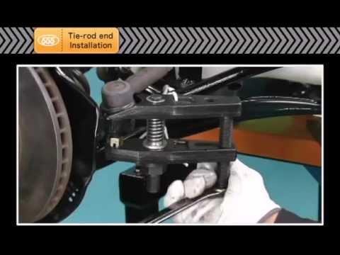 Tie rod end Installation -555 SANKEI INDUSTRY-