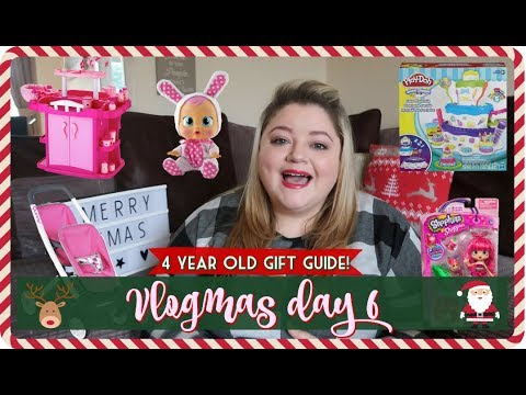 GIRLS GIFT GUIDE    4 YEAR OLD GIFT IDEAS    GIRL GIFT HAUL   VLOGMAS DAY 6, My Happy Ever After