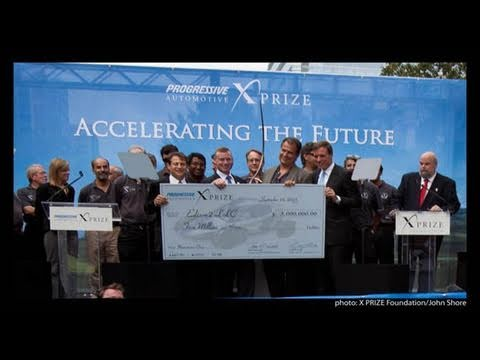 Full Show of $10M Progressive Insurance Automotive X PRIZE Awards Ceremony