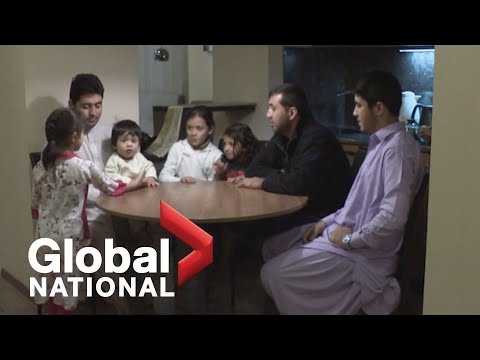 Global National: Oct.12, 2021   Afghan family trapped in Ukraine hopes for asylum in Canada
