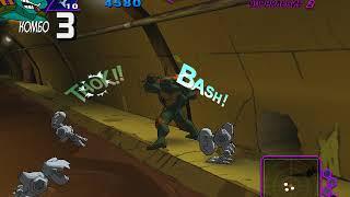 Прохождение игры Teenage Mutant Ninja Turtles. Канализация