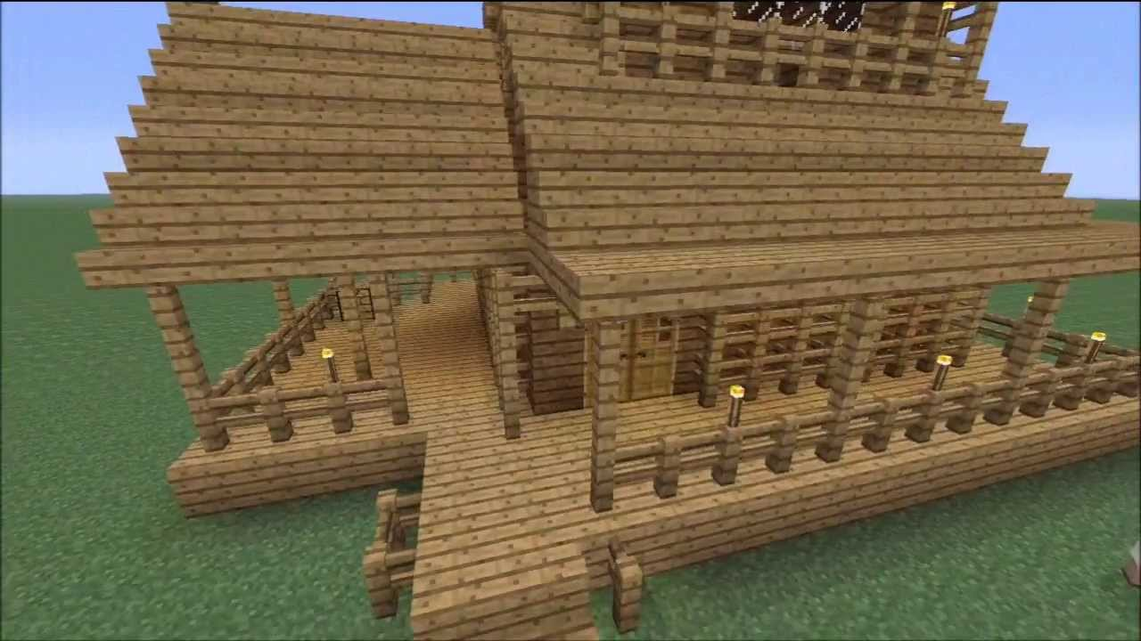 How To Build Log Cabins In Minecraft