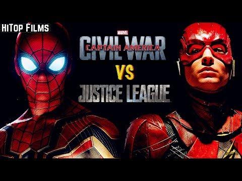 Civil War v Justice League: Dawn of Character Development Video Essay
