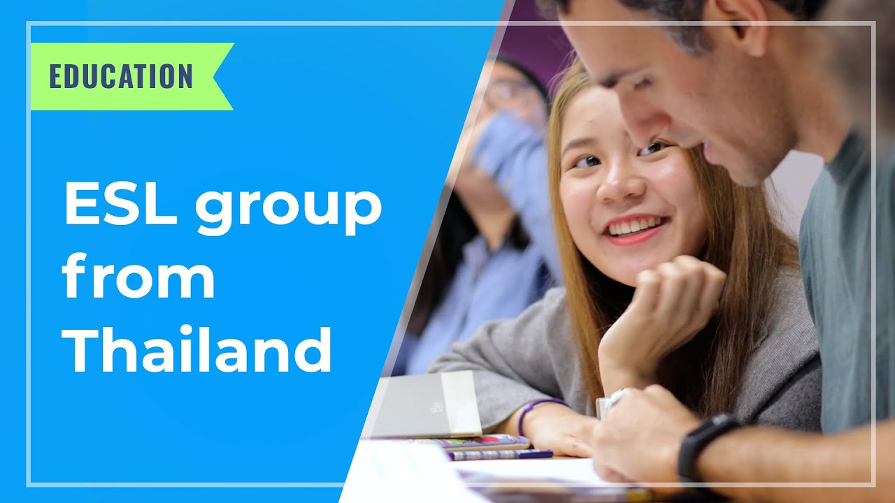 EDUCATION: ESL group from Thailand