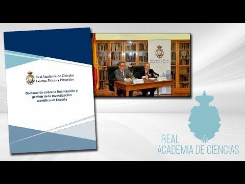 5 de noviembre de 2018.Rueda de prensa para la presentación del informe sobre la situación de la Ciencia en España.Ponentes:- Jesús María Sanz-Serna- Esteban Domingo Solans▶ Suscríbete a nuestro canal de YouTubeRAC: https://www.youtube.com/c/RealAca