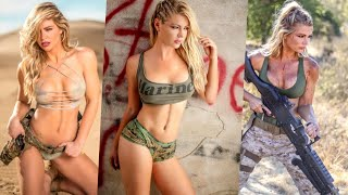 how this woman earned the name hot marine