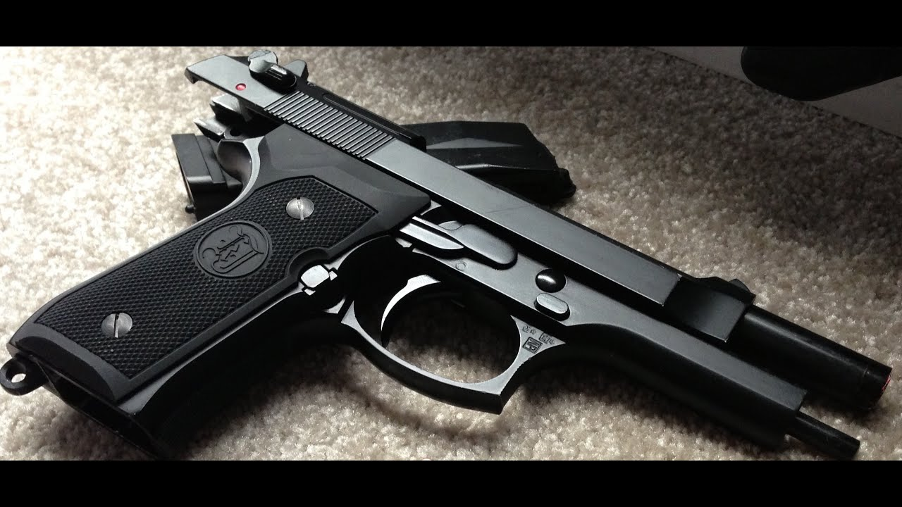 Convert Beretta M9 to Full Auto