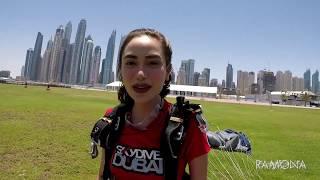 Arci Muñoz- Dubai  SKYDIVE