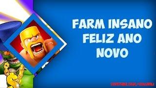 Clash of Clans - Farm insano feliz ano novo [BR] #compartilhe