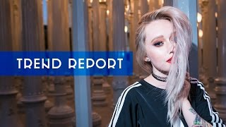 trend report light up shoes peel off makeup  more