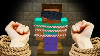REALISTIC MINECRAFT - STEVE GETS KIDNAPPED! 🔫