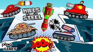 АВИАУДАР УНИЧТОЖИЛ ВСЕХ! Открываем 26 КЕЙСОВ! Безумное ОБНОВЛЕНИЕ ОНЛАЙН танки в игре Хилс оф Стил