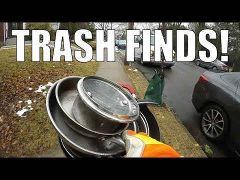 GARBAGE PICKING DAY - I can't believe we FOUND this AGAIN?!