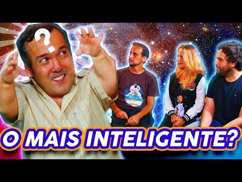 QUEM É O MAIS INTELIGENTE? com Gigante Léo
