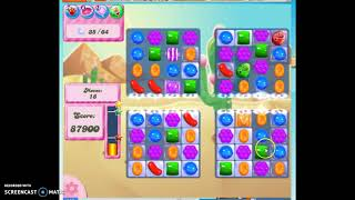 Candy Crush Level 323 Audio Talkthrough 1 Star 0 Boosters