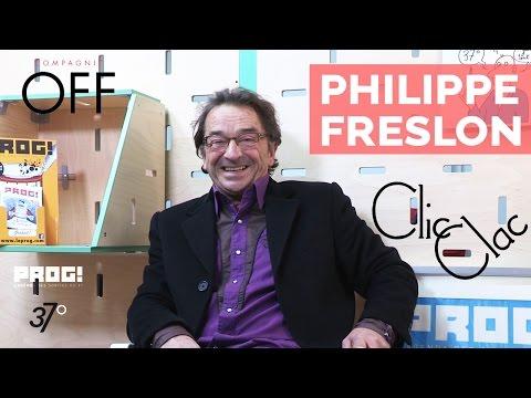 Philippe Freslon - L'interview CLIC CLAC