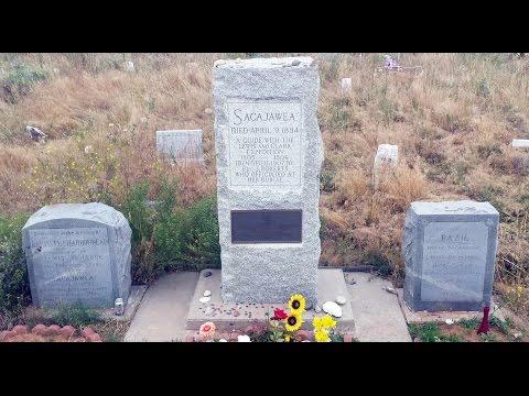 Sacajawea Grave & Statue