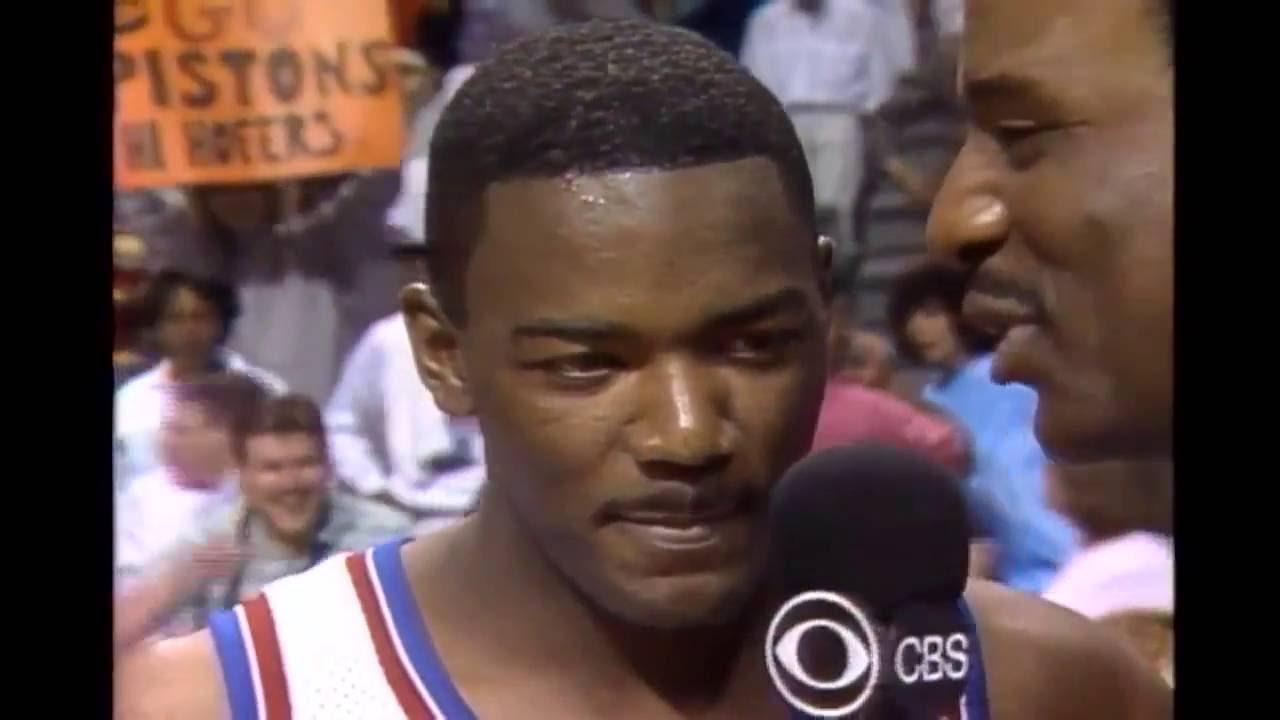 Joe Dumars Game 2 1989 NBA Finals 26 First Half Points