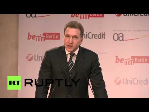 Germany: Russia will overcome sanctions - Deputy PM Shuvalov