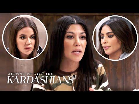 Kourtney Kardashian Tired of Family Siding With Ex Scott Disick | KUWTK | E!
