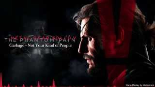 Metal Gear Solid V - Trailer Music (Mintorment Piano Medley)