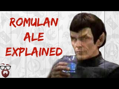 Why Romulan Ale was Illegal. (Star Trek Canon)