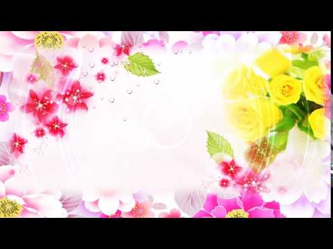 HD Free Wedding Flower Background, Video Background thumbnail