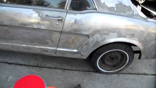 1965 mustang Restoration classic muscle car (part 1)