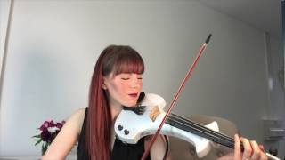 Alexandra - Electric Violin Cover - Say You Won't Let Go - James Arthur