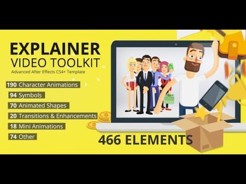 Explainer Video Toolkit After Effects Template YouTube - Explainer video templates