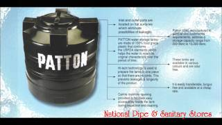 """PATTON"" PVC WATER STORAGE TANK PRESENTATION BY NATIONAL PIPE & SANITARY STORES"