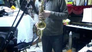 Playing on the alto saxophone. Support me on Patreon!: https://www....