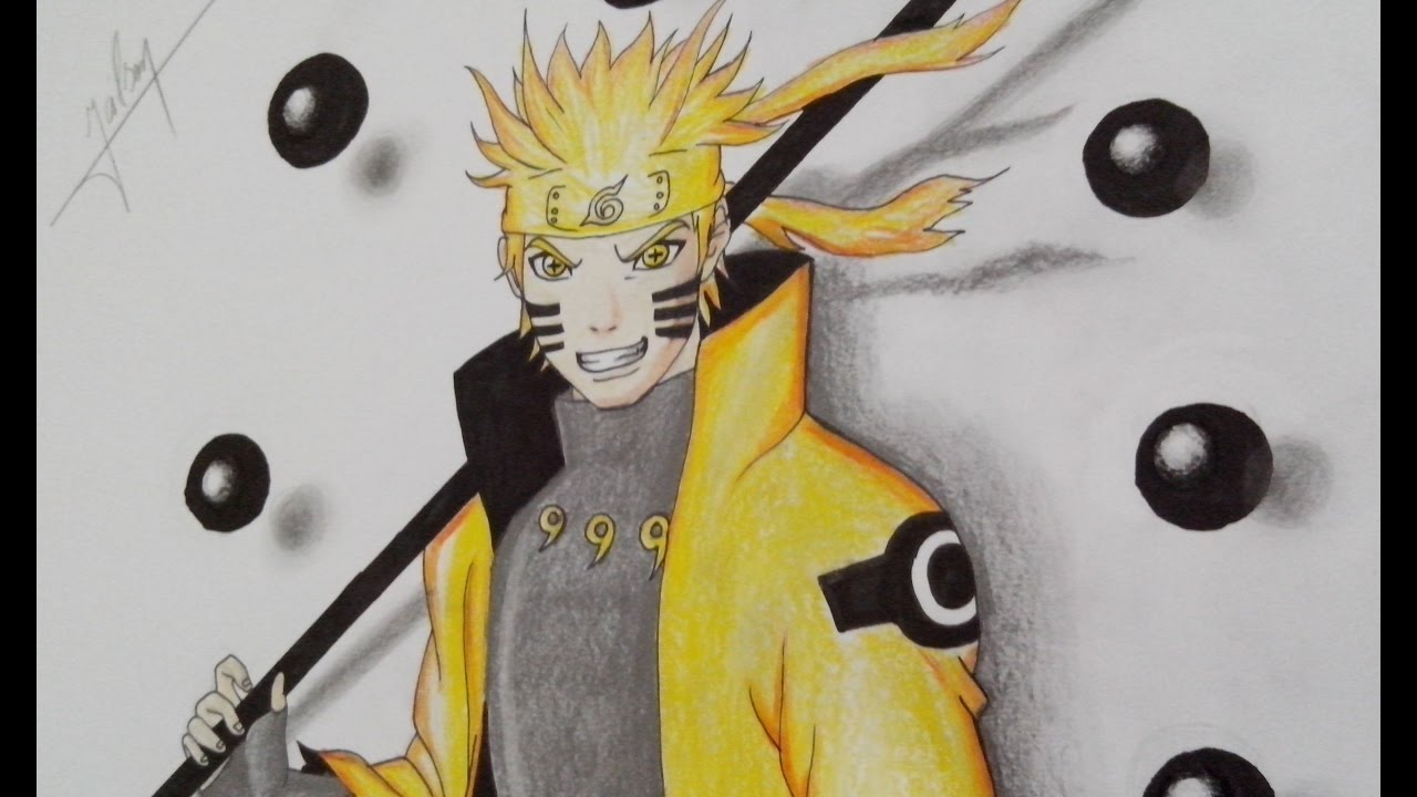 How to draw naruto in 3d speed drawing naruto shippuden