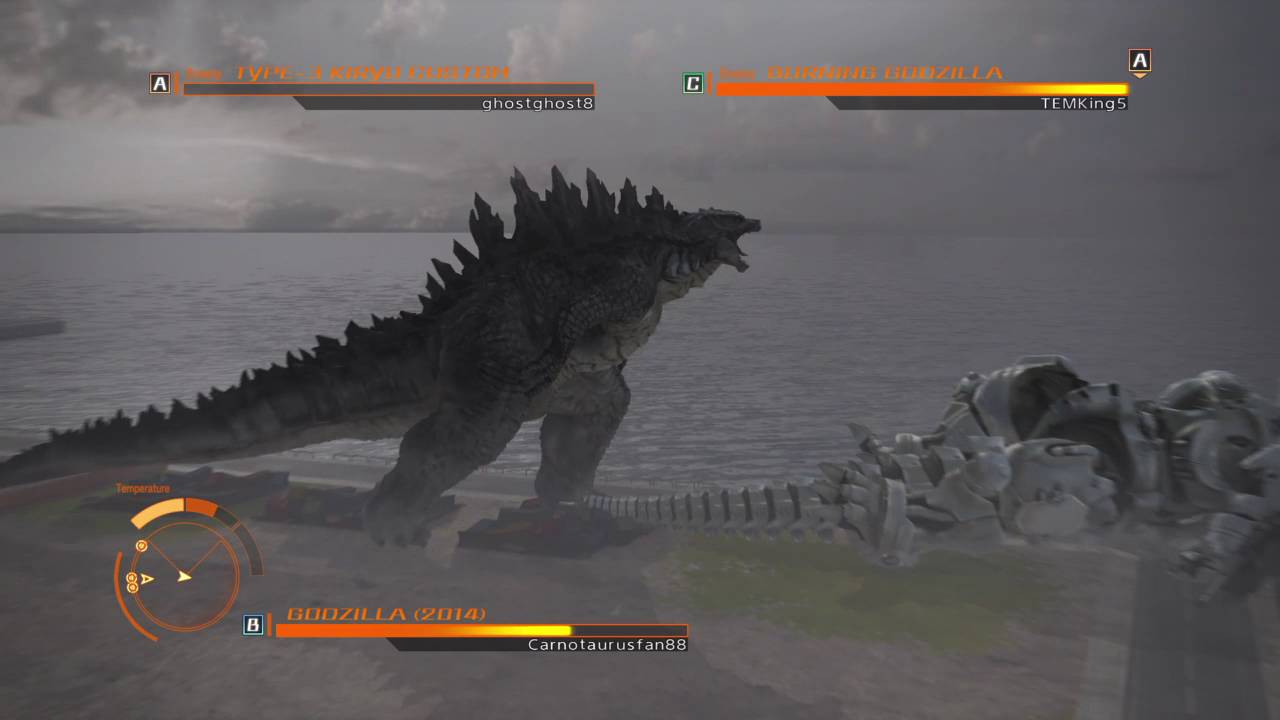 GODZILLA 2014 vs. Burning Godzilla vs Kiryu - YouTube